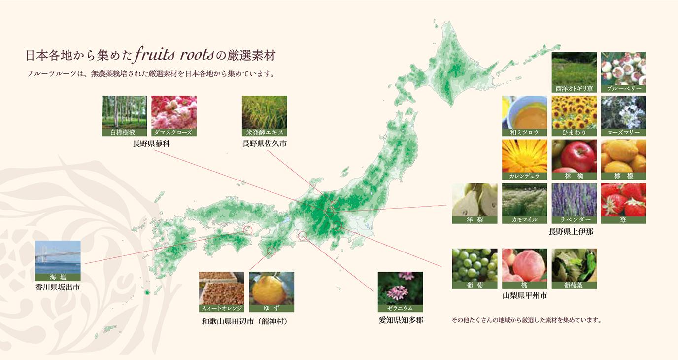 日本の素材