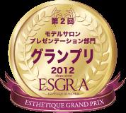 第2回 モデルサロンプレゼンテーション部門 グランプリ2012 ESGRA