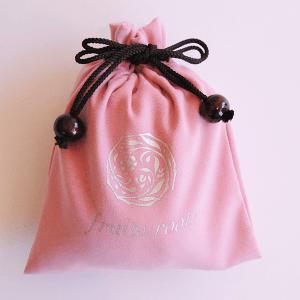 オリジナル巾着(濃ピンク)