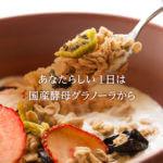 【リニューアル情報】フルーツ酵母グラノーラ